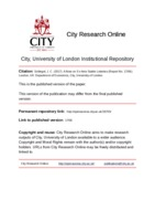 City Research Online - A Note on Ex-Ante Stable Lotteries