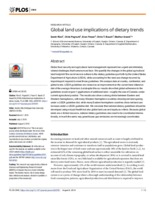 When too much isn't enough: Does current food production meet global