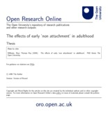 Attachment matters - Open Research Online