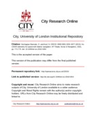 City Research Online - H∞ LIDAR odometry for spacecraft