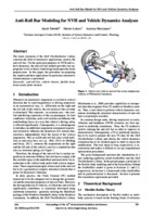 Modelling chassis flexibility in vehicle dynamics simulation - CORE