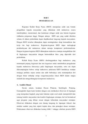 Laporan Kkn Kelompok 2244 Core Reader