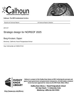 Strategic design for NORSOF 2025 - CORE