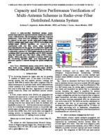 Uplink performance of distributed antenna diversity systems