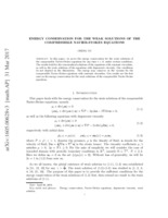 Non-unique solutions of the Navier-Stokes equations for the