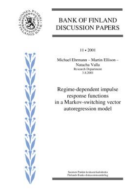 Regime-dependent impulse response functions in a Markov