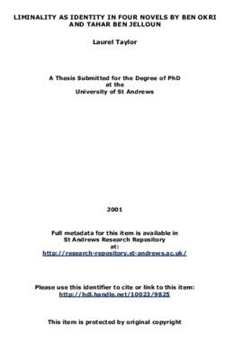 thesis on ben okri