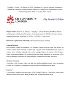 City Research Online - Visualizing Multiple Variables Across