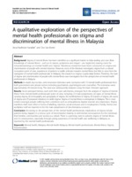A Review Of The Literature And Media Reports Of Patterns Of Mental