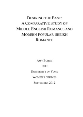 Desiring the east a comparative study of middle english romance and desiring the east a comparative study of middle english romance and modern popular sheikh romance core fandeluxe Images