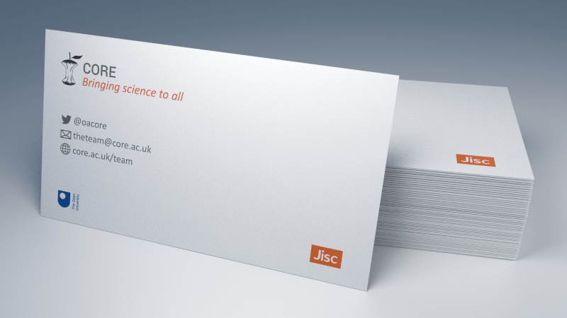 Business card's image